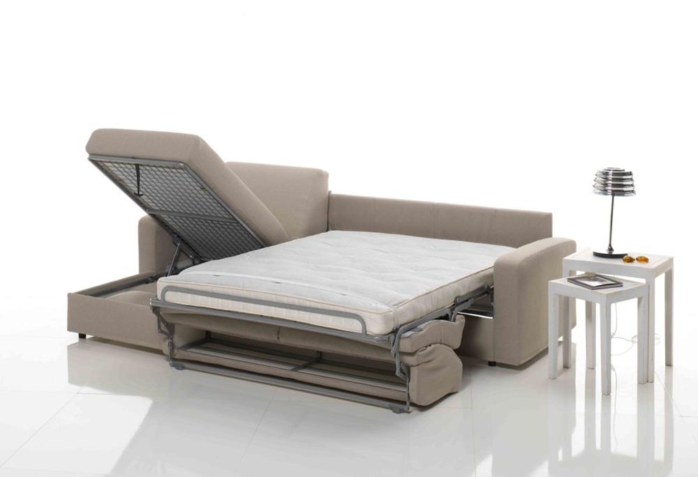 Frales salotti divano letto urban corrieri arredamenti for Divano letto con contenitore
